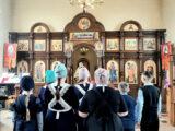 Ученики Зенинской средней школы посетили богослужение в храме святой равноапостольной княгини Ольги с. Зенино