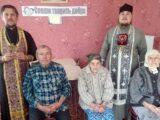 Постояльцы дома-интерната для пожилых людей «Тихая пристань» с. Погромец приняли участие в церковных таинствах
