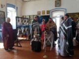 Освещение колоколов для храма Владимирской иконы Божией Матери села Староуколово