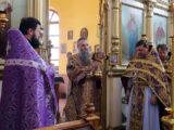 Епископ Савва совершил Божественную Литургию в храме святителя Митрофана Воронежского г. Бирюч