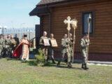 Празднование Светлого Христового Воскресения в 3-й Висленской мотострелковой дивизии