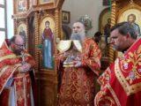 Епископ Савва совершил Божественную Литургию в храме преподобного Сергия Радонежского села Селиваново