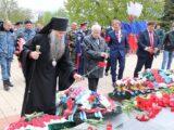 Преосвященнейший епископ Савва принял участие в торжественном митинге посвященном празднованию 76-й годовщины Победы в Великой Отечественной войне в г. Валуйки