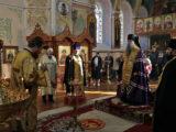 Епископ Валуйский и Алексеевский Савва совершил Всенощное бдение в храме святителя Николая Чудотворца города Валуйки