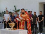 Молебен для выпускников перед предстоящими экзаменами в Покровском соборе г. Бирюч