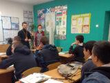 Встреча священника со студентами Ютановского Агромеханического техникума