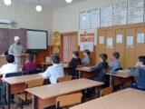 Настоятель храма Вознесения Господня села Щербаково провёл ряд уроков среди учащихся местной школы, посвящённых Дню славянской письменности и культуры
