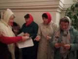 Распространение миссионерских листовок на приходах Валуйской епархии к празднику Светлой Пасхи