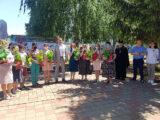 Во дворе Алексеевской ЦРБ состоялось мероприятие посвященное Дню медицинского работника