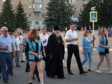 Благочинный приходов Алексеевского округа принял участие в митинге посвященном 80-летию начала Великой Отечественной Войны