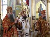 Преосвященнейший епископ Савва принял участие в торжествах посвященных празднованию Собора новомучеников и исповедников Белгородских в г. Строитель