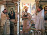 В праздник Вознесения Господня Преосвященнейший епископ Савва совершил Божественную Литургию в храме Рождества Христова села Горки