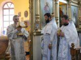 В Троицкую родительскую субботу епископ Савва совершил Божественную Литургию и панихиду в храме святителя Митрофана Воронежского г. Бирюч