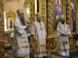 Епископ Валуйский и Алексеевский Савва принял участие в соборном богослужении по случаю дня тезоименитства главы Белгородской митрополии