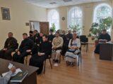 Преосвященнейший епископ Савва провел организационную встречу с кандидатами в архиерейский хор духовенства епархии