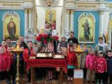 Храм Рождества Пресвятой Богородицы села Фощеватово посетили школьники из села Репьевка