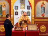 Божественная Литургия в ИК №4 города Алексеевка
