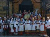 Благочинный приходов Алексеевского округа принял участие в фольклорном фестивале «На родине Маничкиной»