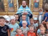 Воспитанники детского сада посетили храм Рождества Христова села Лесное Уколово