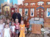 Воспитанники детского сада «Сказка» побывали на экскурсии в храме Покрова Пресвятой Богородицы с. Сетище