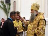 Преосвященнейший епископ Савва совершил всенощное бдение в Свято-Николаевском кафедральном соборе города Валуйки