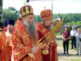 Епископ Валуйский и Алексеевский Савва принял участие в соборном богослужении на подворье храма Рождества Иоанна Предтечи села Сухарево