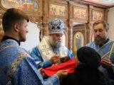 Епископ Савва совершил Божественную Литургию в возрождающемся Николо-Тихвинском женском монастыре поселка Пятницкое