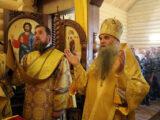 В праздник Крещения Руси епископ Савва совершил Божественную Литургию в храме святого равноапостольного князя Владимира при в/ч 54046 с. Солоти