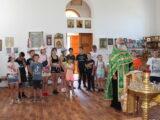В день памяти святых Петра и Февронии Муромских учащиеся Фощеватовской средней школы посетили храм
