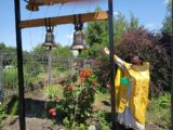 Освящение колоколов в храме святого пророка Илии села Красное
