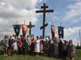 В селе Иловка состоялся крестный ход к поклонному кресту