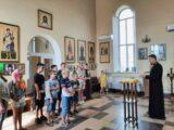 Дети посетили храм святой княгини Ольги села Зенино