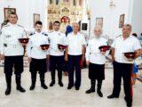 Казаки приняли участие в Божественной Литургии в Свято-Николаевском кафедральном соборе г. Валуйки