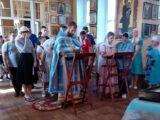Молебен перед началом учения отроков в Вейделевке