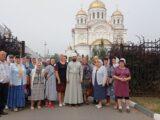 Прихожане Вознесенского храма с. Щербаково совершили паломническую поездку в Свято-Николаевский кафедральный собор г. Валуйки