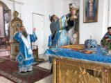 В праздник Успения Пресвятой Богородицы Преосвященнейший епископ Савва совершил Божественную Литургию в Свято-Николаевском кафедральном соборе города Валуйки