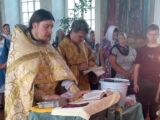 Молебен перед началом учебного года в селе Иловка