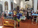 Молебен перед началом учебного года в селе Ливенка