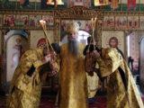 Епископ Валуйский и Алексеевский Савва совершил Божественную Литургию в храме святого пророка Божия Илии села Красное
