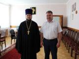 Настоятель Свято-Троицкого собора п. Ровеньки встретился с главой администрации Ровеньского района Белгородской области