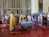 В Свято-Троицком сборе поселка Ровеньки состоялся традиционный молебен для всех учащих и учащихся перед началом учебного года
