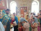 В Свято-Ильинском храме села Красное помолилсь перед началом учебного года