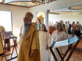 Епископ Савва совершил иноческий постриг и Божественную Литургию в Николо-Тихвинском женском монастыре поселка Пятницкое