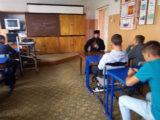 Встреча со студентами техникума в п. Вейделевка, посвященная 800-летию со дня рождения святого Александра Невского