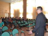 Состоялась встреча священника со студентами Вейделевского агротехнологического техникума посвященная Дню трезвости