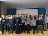 Священнослужитель посетил Ровеньский политехнический техникум и провел тематическую встречу приуроченную к Всероссийскому дню трезвости