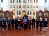 Учащиеся Ливенской СОШ посетили храм Успения Пресвятой Богородицы