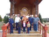 В храме Рождества Христова села Рождествено состоялось праздничное богослужение с участием представителей казачества