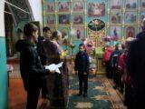Раздача листовок в праздник Воздвижения Креста Господня на приходах Валуйской епархии